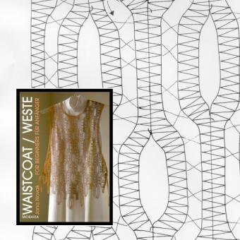 Klöppelbriefe Weste für Anfänger