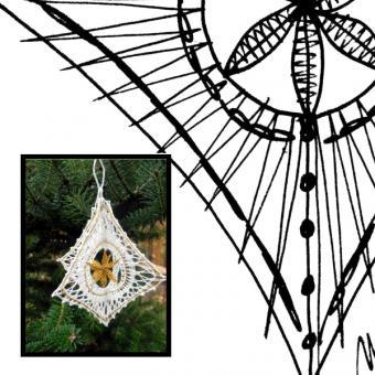 Pattern christmas 3D -diamond