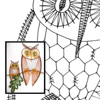 Pattern codger & screech owl