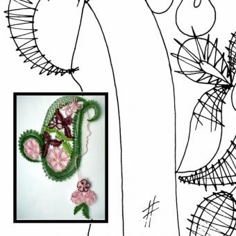 Pattern spring fairy
