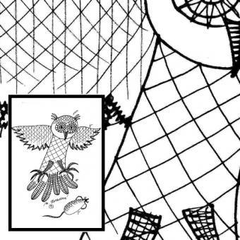 Pattern owl - catch on