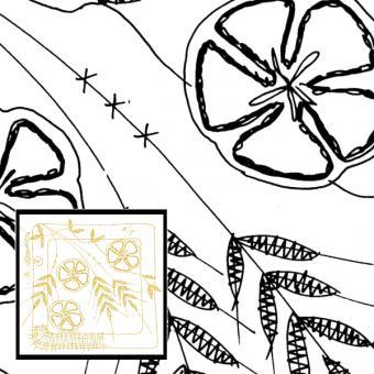 Klöppelbrief 4JZ Sommer