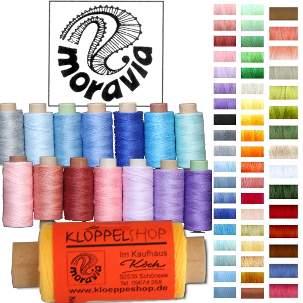 Moravia Linen Yarn - Colored - NeL 40/2