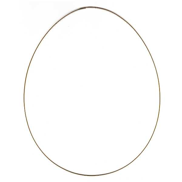 Metal Frame Egg, big