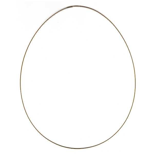 Metallrahmen Ei, groß