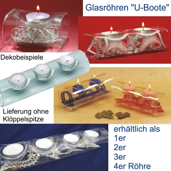Glaskerzenhalter U-BOOT