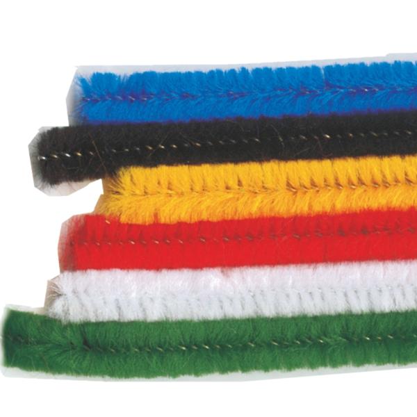 Chenille Sticks, Assorted
