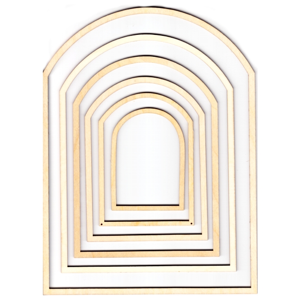 Wooden Frame Archway