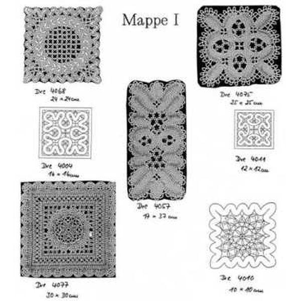 Ostmark Klöppelschätze Mappe 1