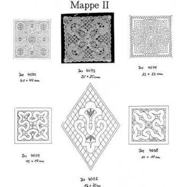 Ostmark Klöppelschätze Mappe 2