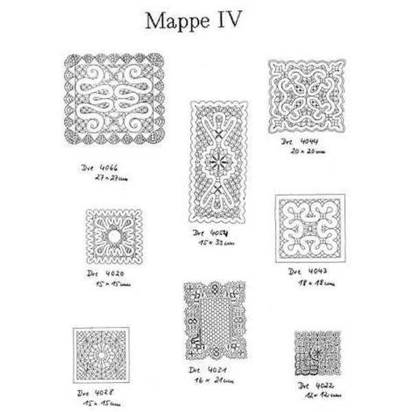 Ostmark Klöppelschätze Mappe 4