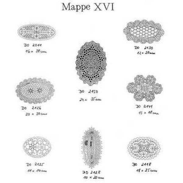 Ostmark Klöppelschätze Mappe 16