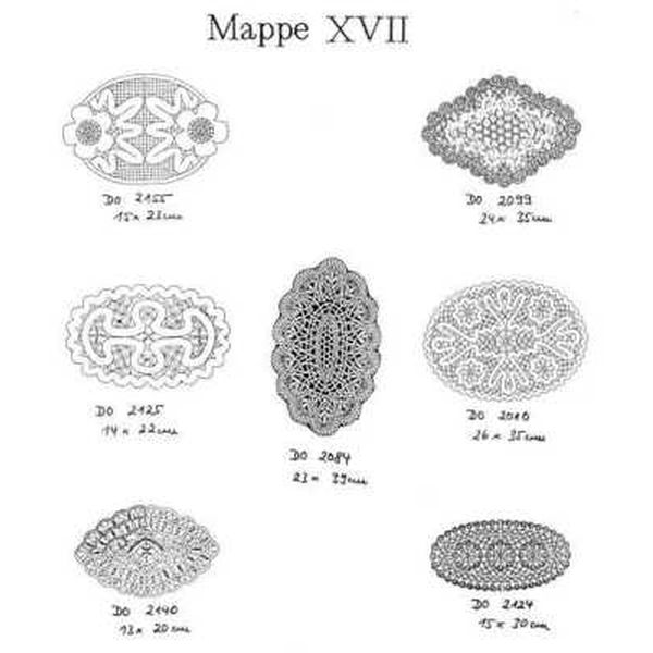 Ostmark Klöppelschätze Mappe 17