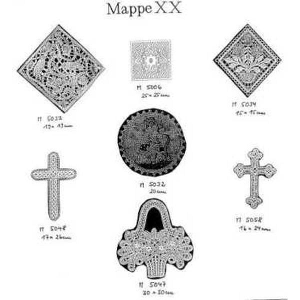 Pattern Ostmark Bobbin Treasures Folder 20
