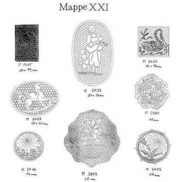 Pattern Ostmark Bobbin Treasures Folder 21