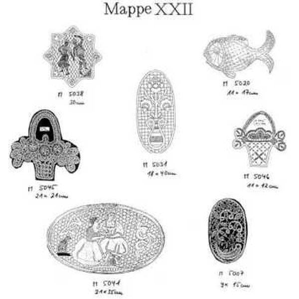 Pattern Ostmark Bobbin Treasures Folder 22