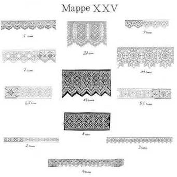 Ostmark Klöppelschätze Mappe 25