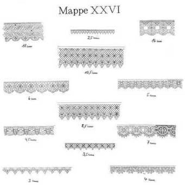 Ostmark Klöppelschätze Mappe 26