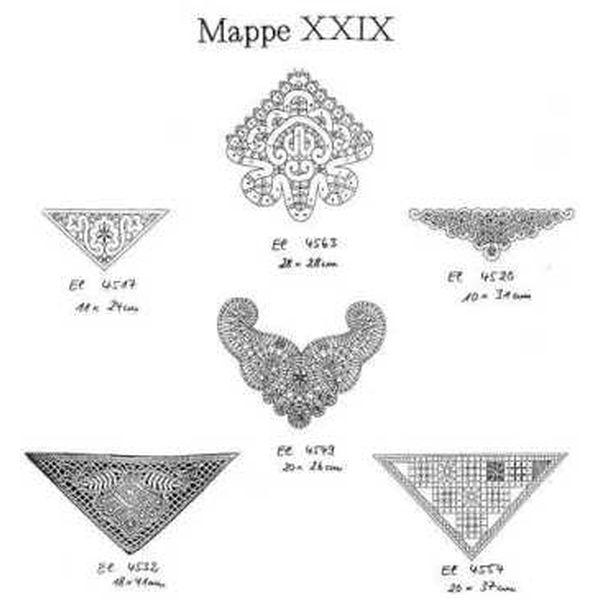 Pattern Ostmark Bobbin Treasures Folder 29