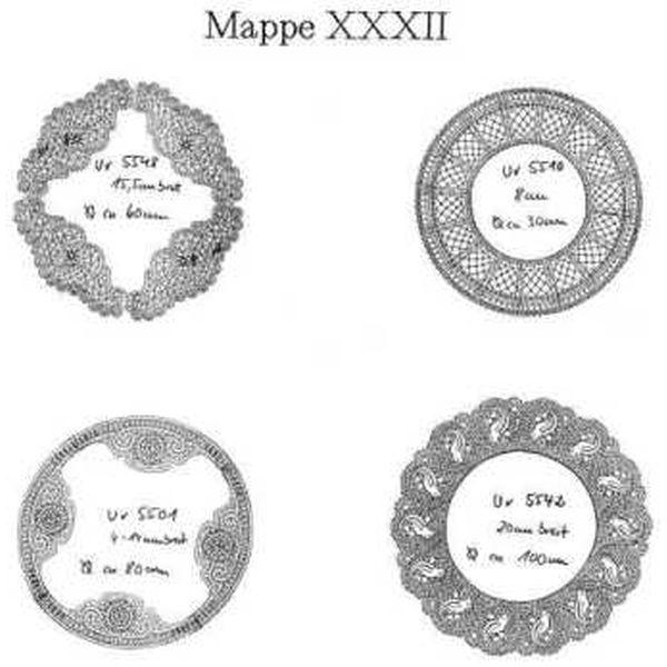 Ostmark Klöppelschätze Mappe 32