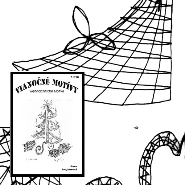 Klöppelbrief Weihnachtsbaum