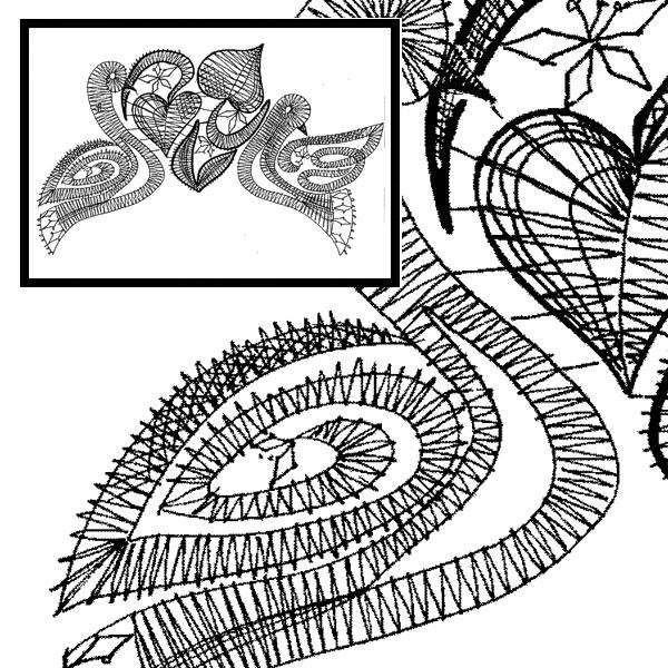 Pattern Pigeons - Wedding Motive
