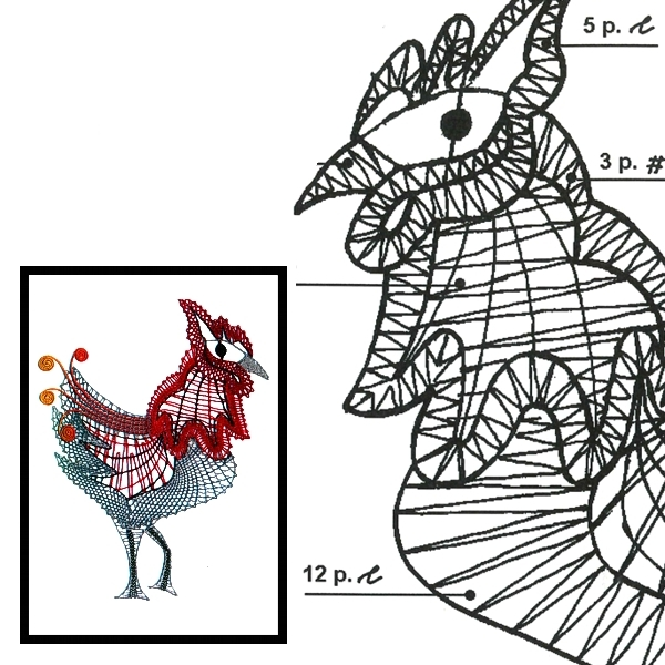 Pattern cock