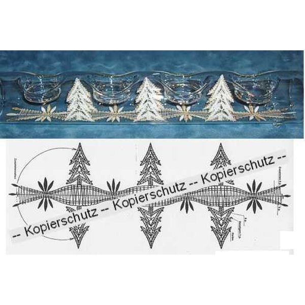 """Klöppelbrief """"Tannen"""" für U-Boot"""