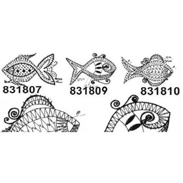 Klöppelbrief Fisch (für Gimpe)