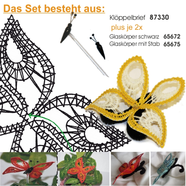 "SET ""4 Schmetterlinge"""