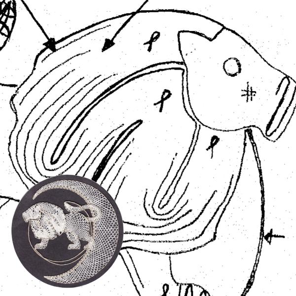 Pattern Leo (Ø: 12 cm)