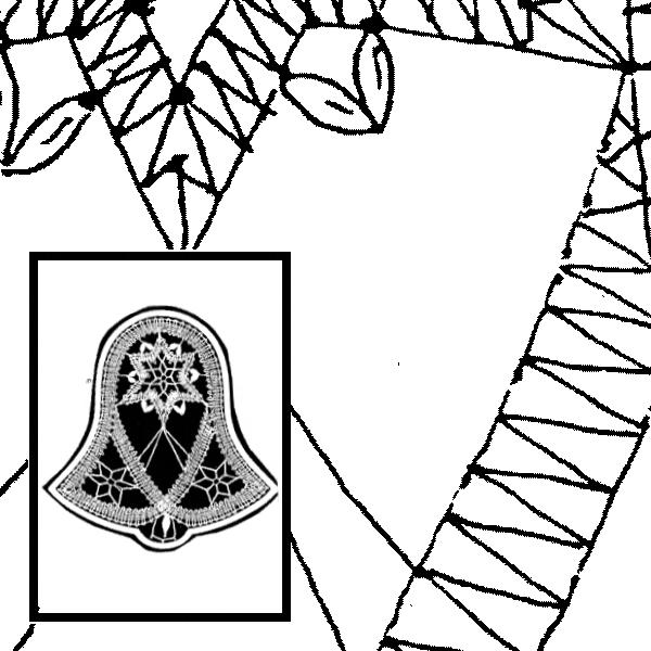 Klöppelbrief Glocken (Gr. 4)