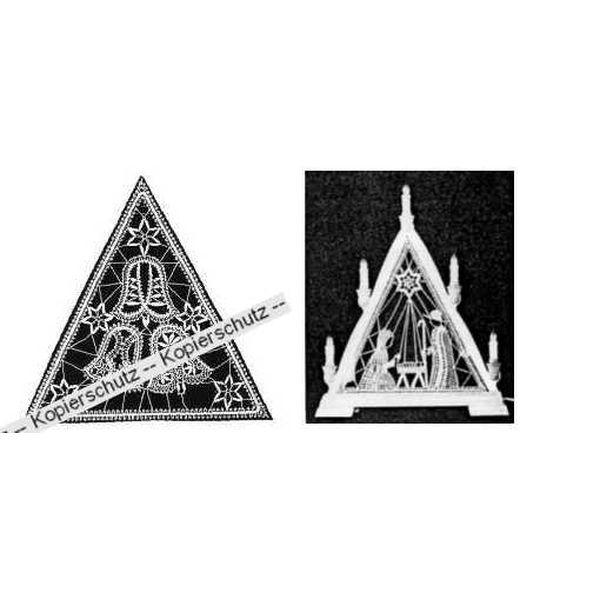 Brief 3 Glocken B für Lichtdreieck