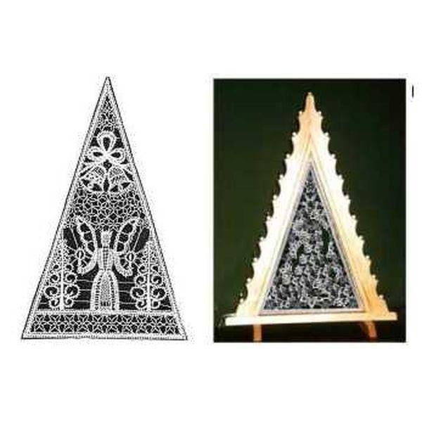 Brief Engel mit 2 Glocken für Lichtdreieck groß