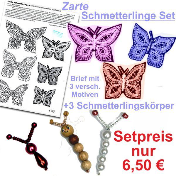 KB Schmetterlinge + 3 Körper