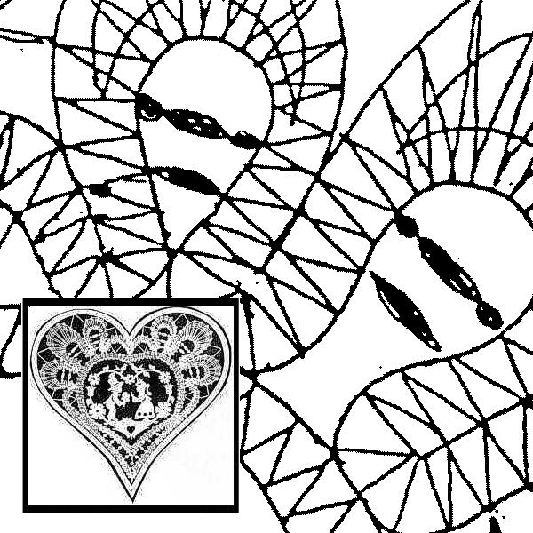 Pattern Heart (Size 4)