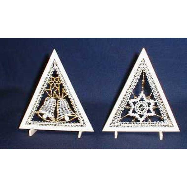 Klöppelbrief Mini-Dreieck