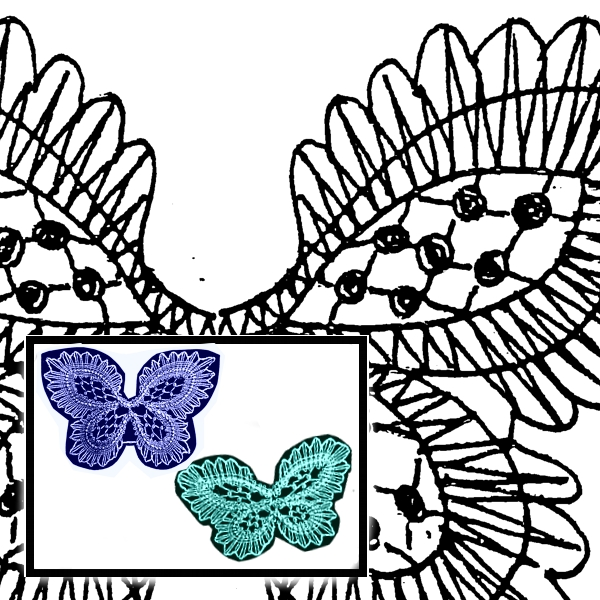 Pattern Butterfly, 2 Motives