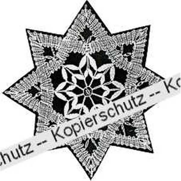 Klöppelbrief Stern (Gr. 5)