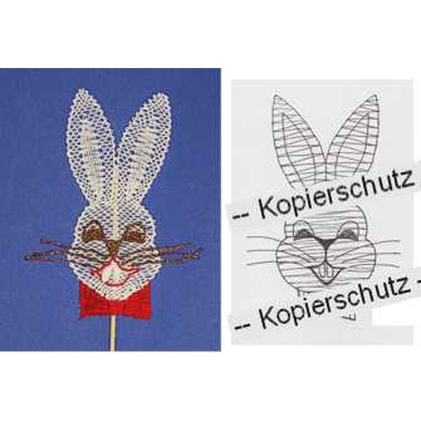 Pattern Rabbit Head