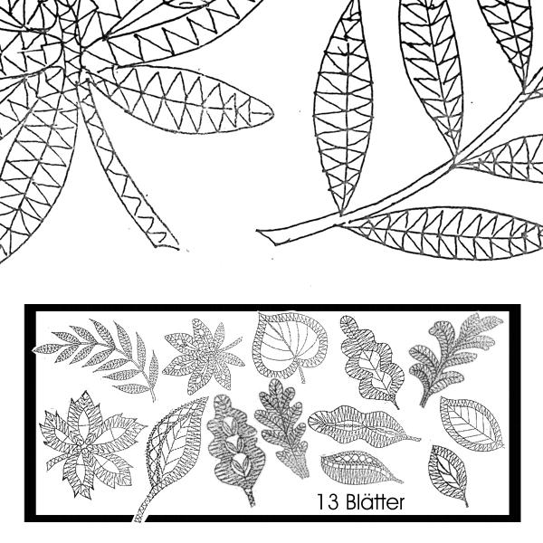 Blätter 1, 2 + 3