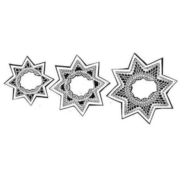 Klöppelbrief Stern (Gr. 3, 4 & 5)