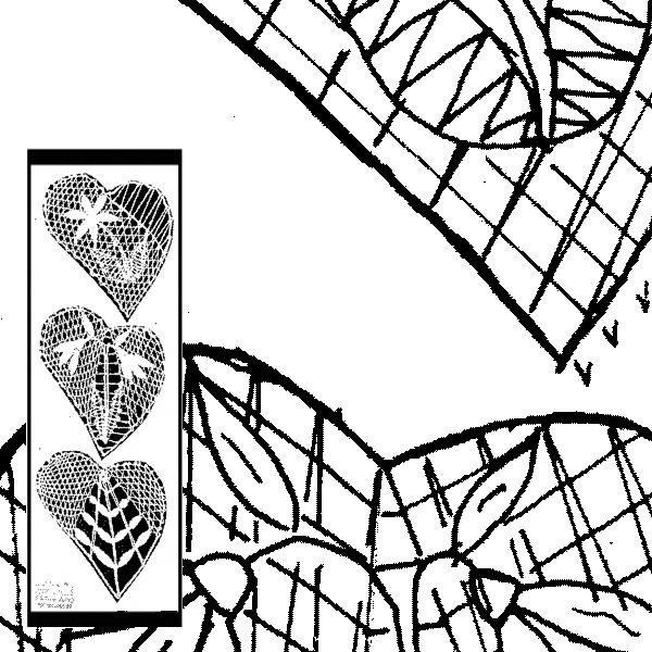 Klöppelbrief Herzen
