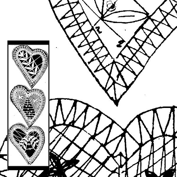 Pattern Hearts