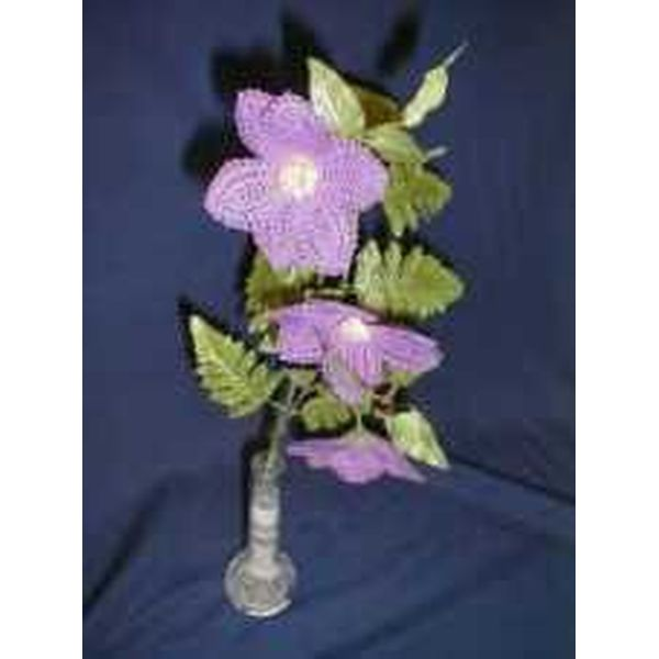 Pattern - Lace Flowers - Clematis