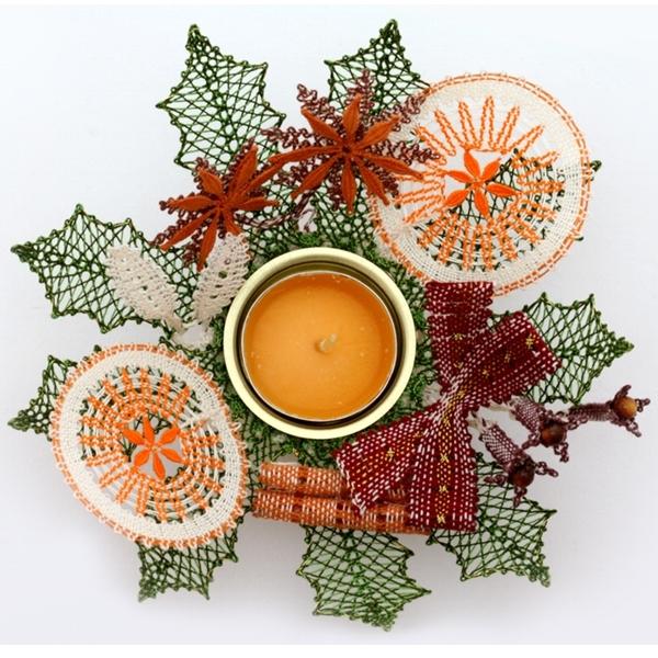 Pattern Spice Wreath