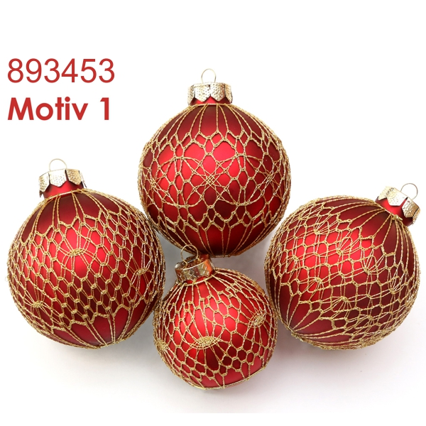 Pattern for Christmas tree decoration