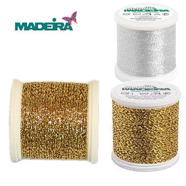 MADEIRA metallisiertes Effektgarn Nr. 25