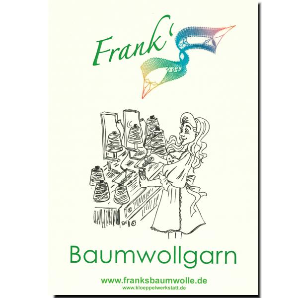 FRANKs Baumwolle - Farbkarte