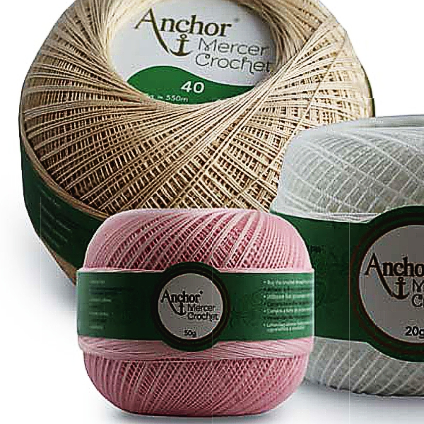 Chrochet Thread Anchor, Strength 80